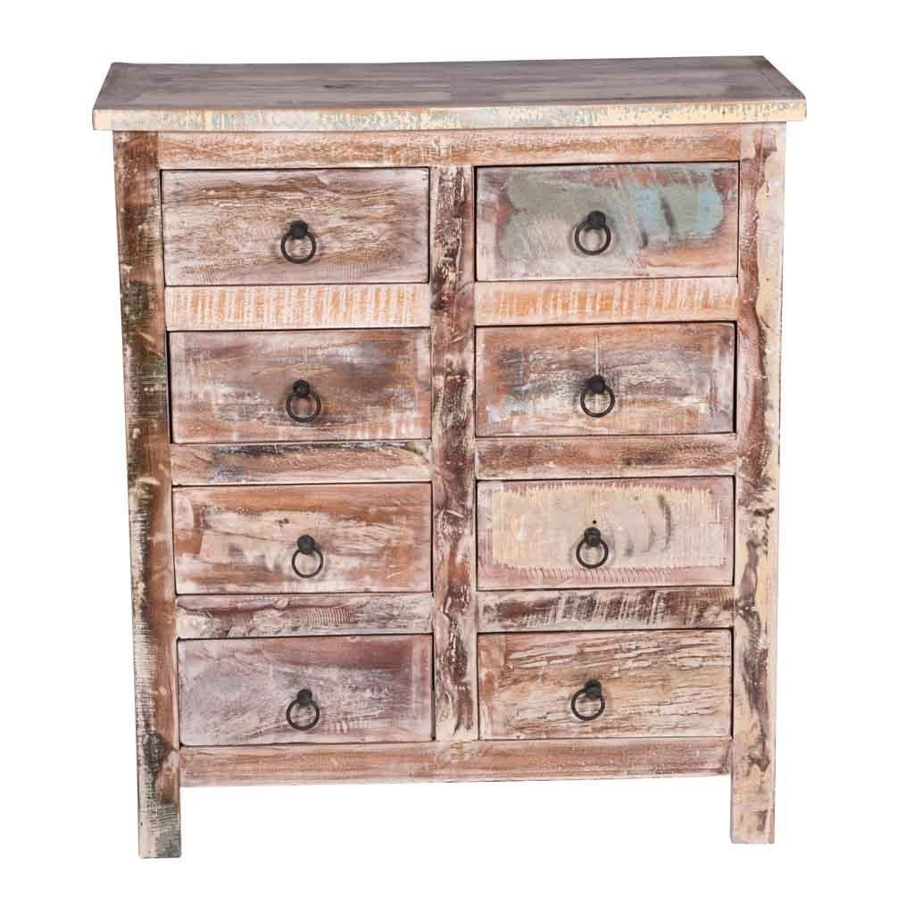 Maadze White Chest of Drawers - Maadze