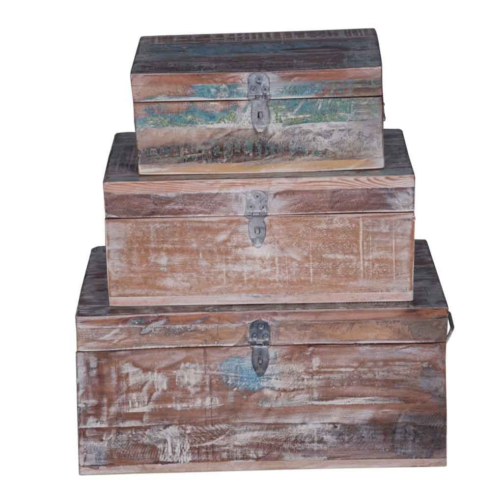 Maadze Wooden Jewelry Box Set of 3 - Maadze