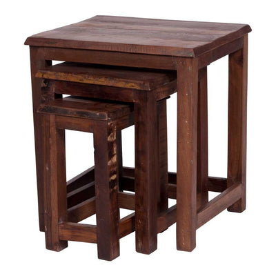 Maadze Solid Wood Nesting Tables
