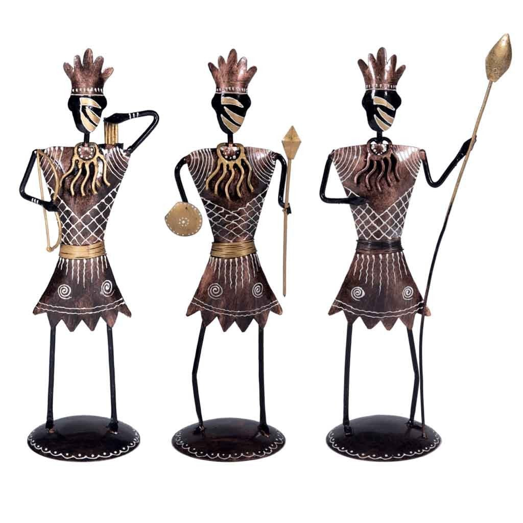 Maadze Decor Tribal Set of 3 - Maadze