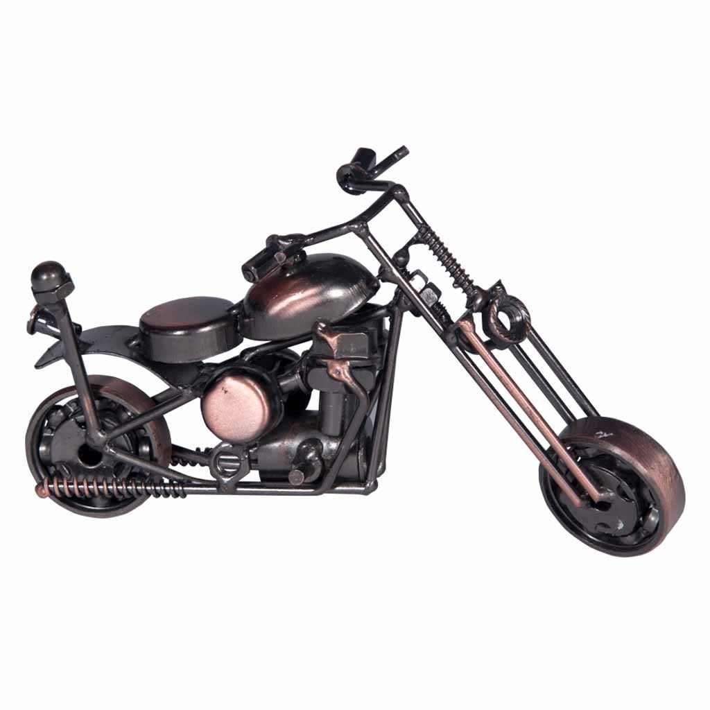 Iron decorative Small Motorcycle - Maadze