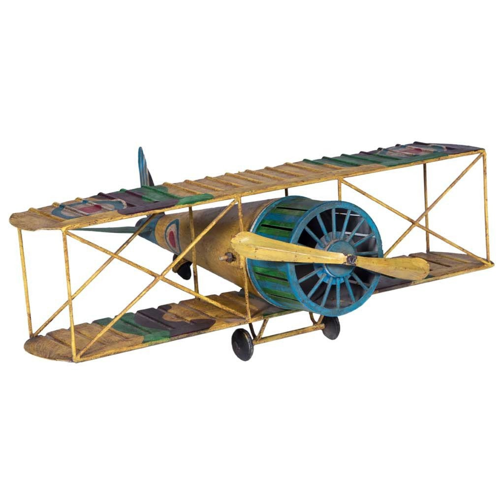 "Maadze Antique Airplane ""Yellow Bloom"" - Maadze"