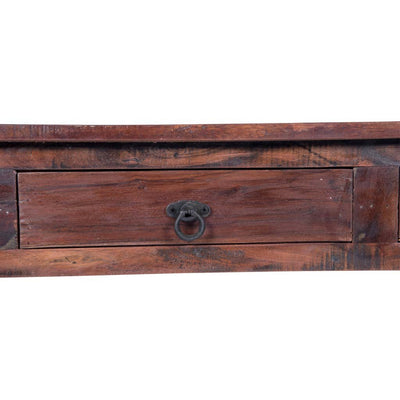 Maadze Reclaimed Wood Console Table With Drawers   Maadze