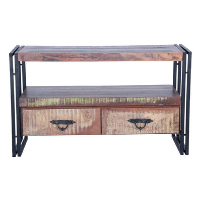 Reclaimed Wood TV Cabinet | Maadze