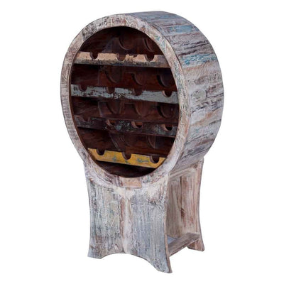 Maadze Reclaimed Wood Wine Rack - Maadze