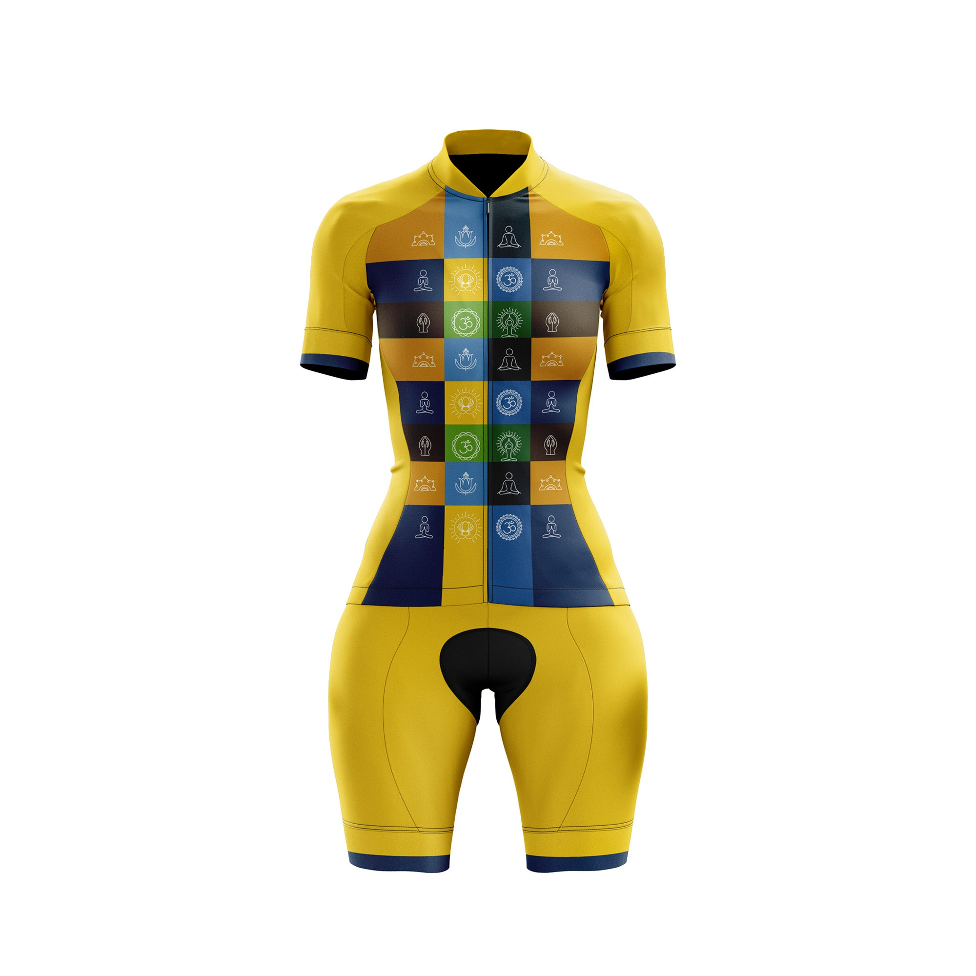 Buddhist Female Cycling Kit