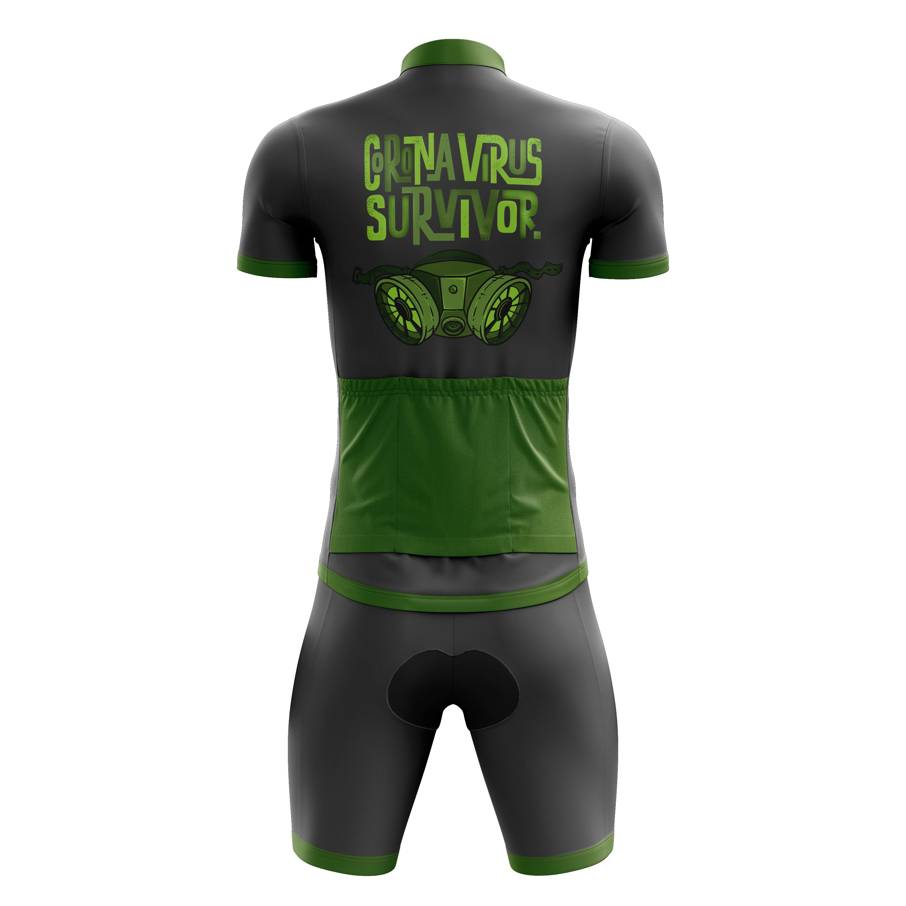coronavirus cycling kit
