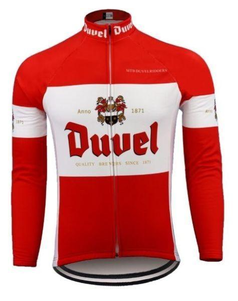 Duvel Long Sleeve Cycling Jersey