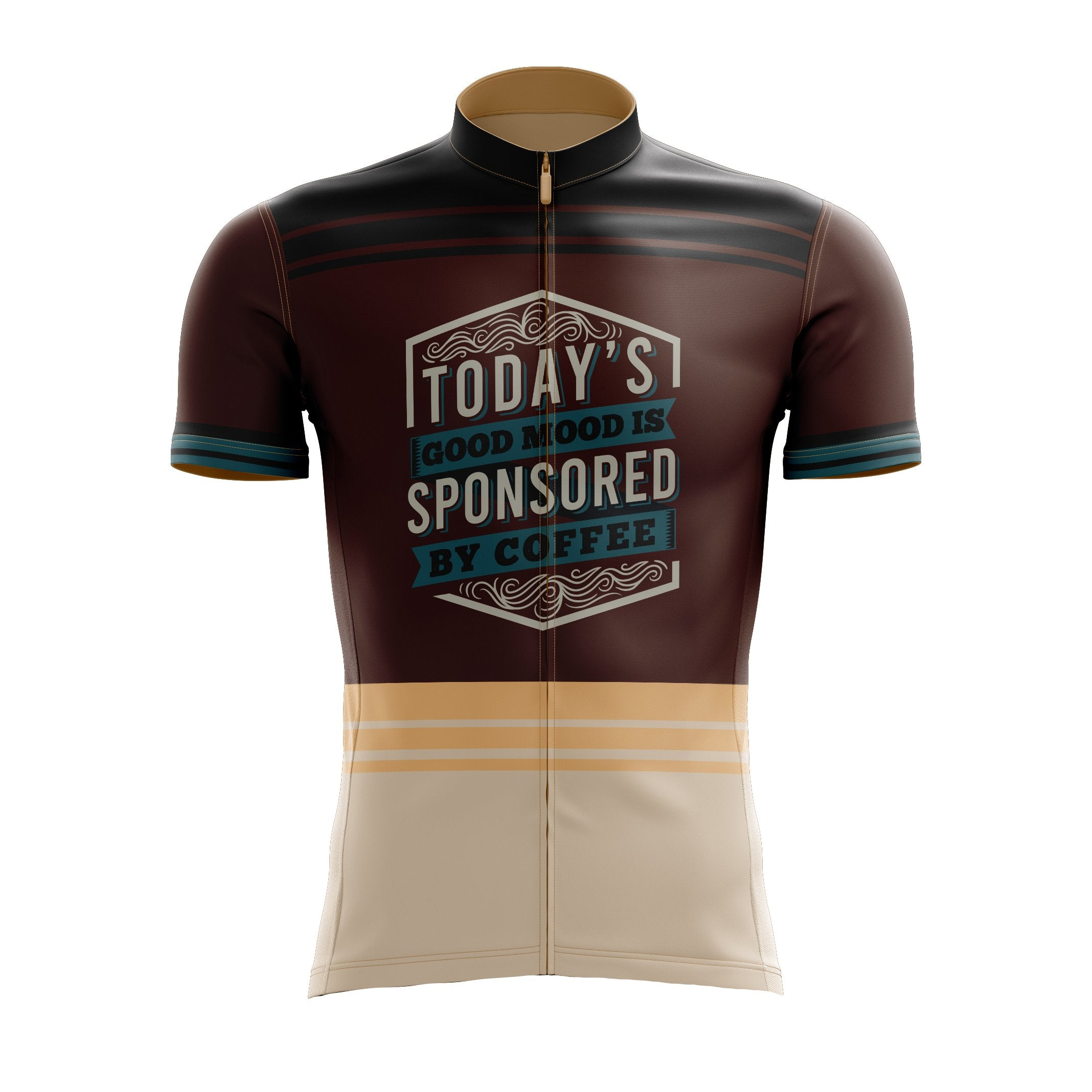Sponsored By Coffee Cycling Jersey