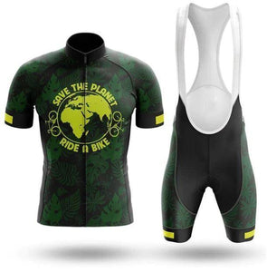 Save The Planet Cycling Set - Short Sleeve Cycling Set