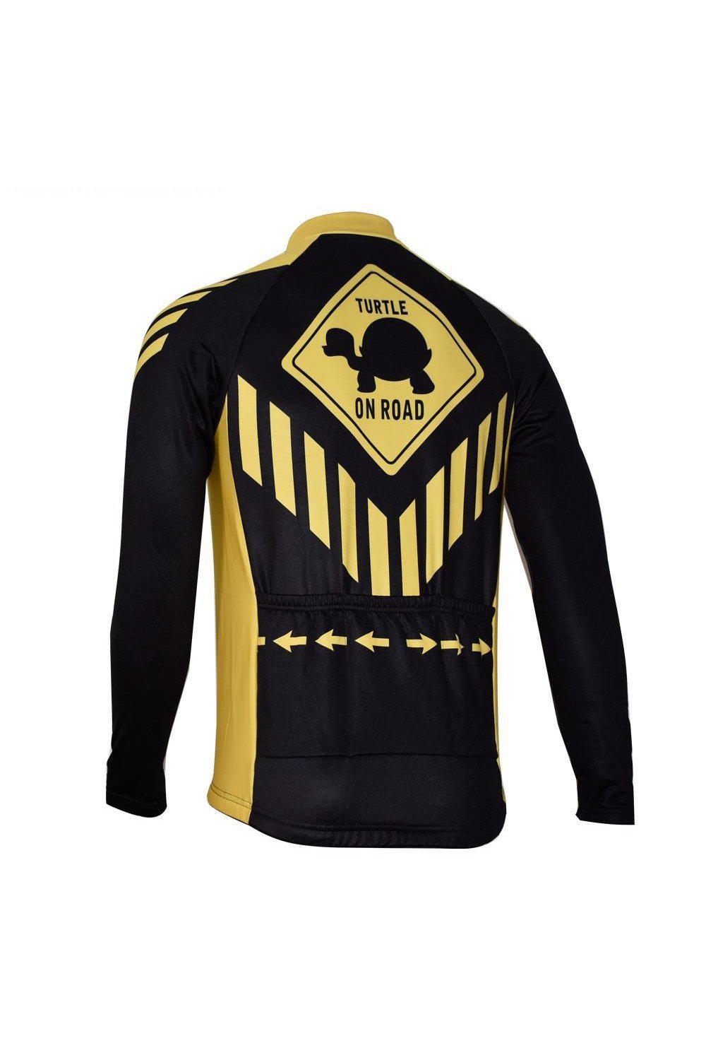 Slow Turtle Winter Long-Sleeve Cycling Jersey