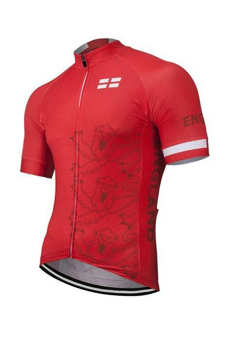red england cycling jersey