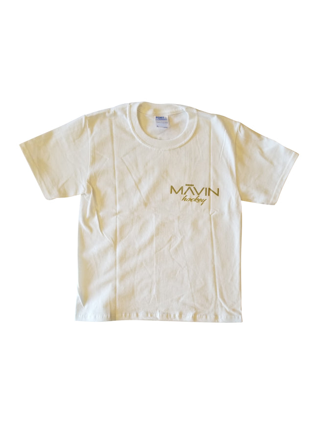 MĀVIN - Anchor Youth Tee {White}