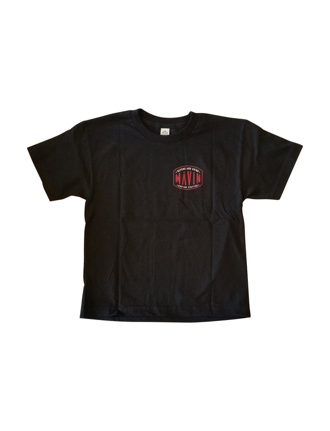 MĀVIN - Defend Youth Tee {Black}