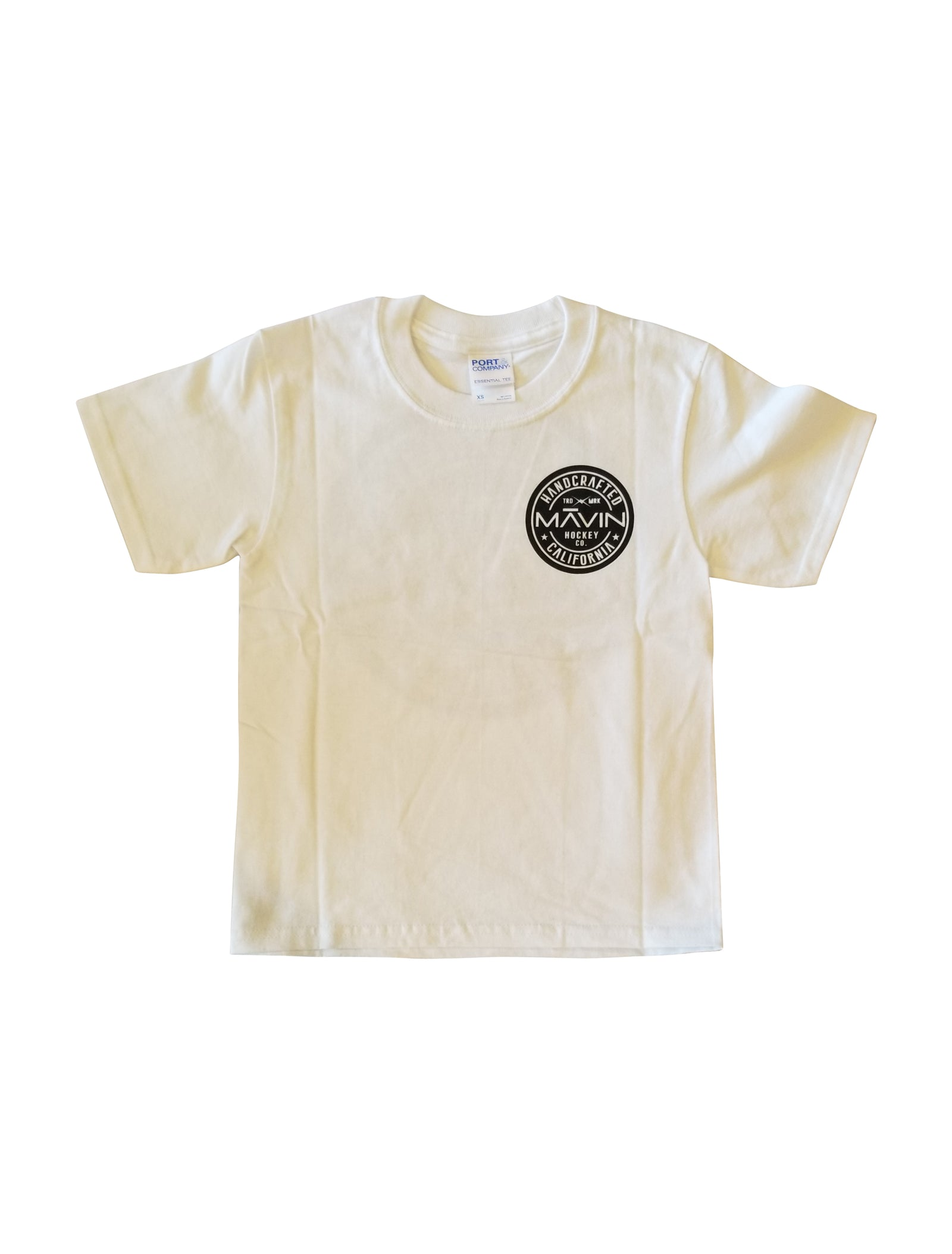 MĀVIN - OG Logo Youth Tee {White/Black}