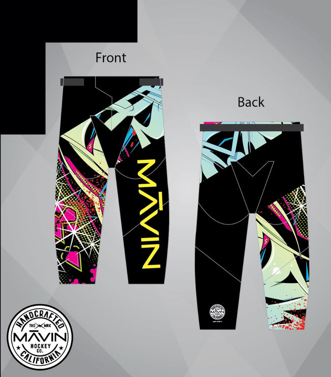 MĀVIN- Graffiti pants