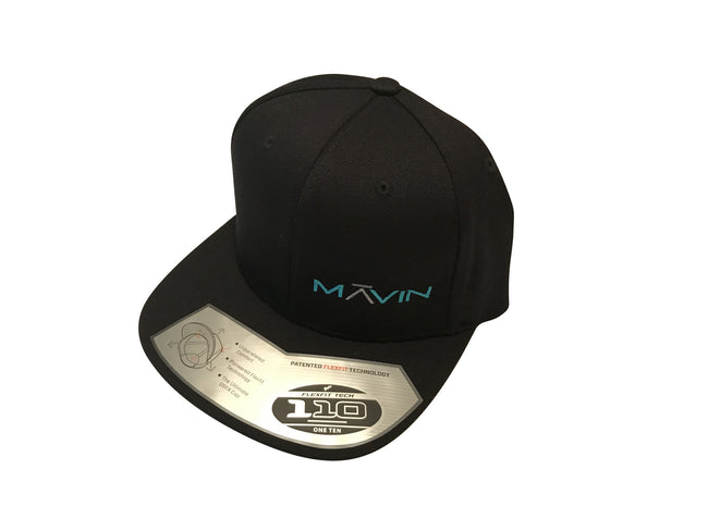 MĀVIN - Float Black/Teal Hat {Fitted}