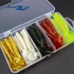 25 pcs colorful soft bait