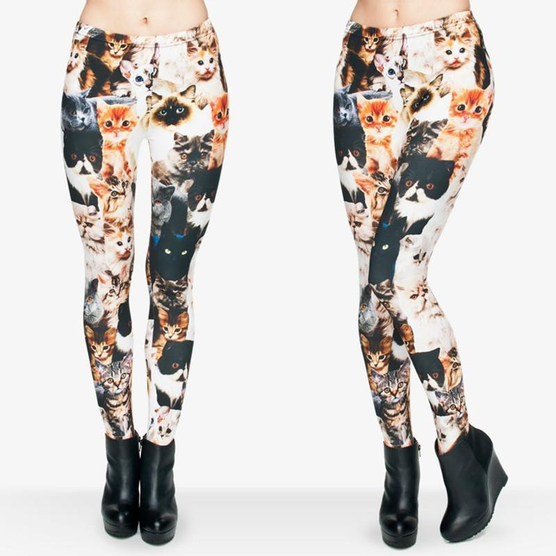 3d Cat Legging