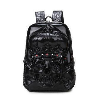 3D Skull Designer Backbag