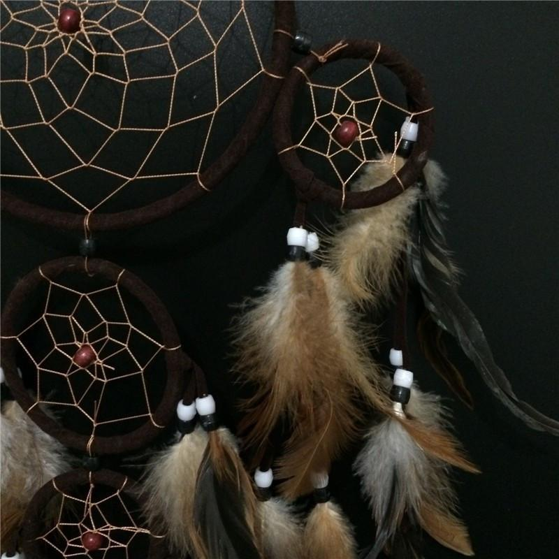 5 Circles Dream Catcher