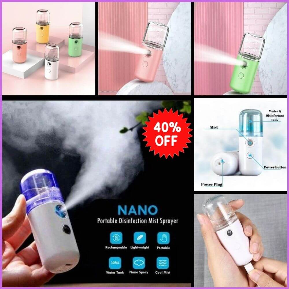 eStoreo™️ Nano Mist Sprayer