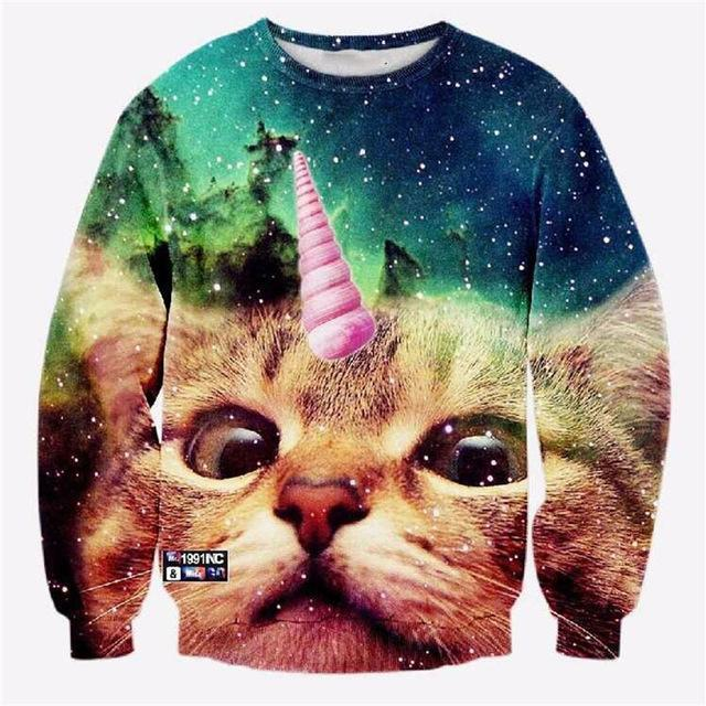 COOL CAT UNISEX SWEATSHIRTS
