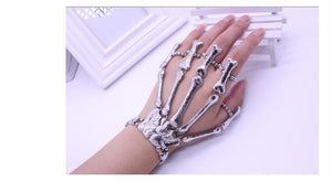 Cool Skeleton Stretchable Bracelet Slave Ring