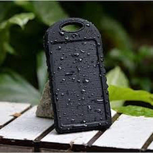 Dual USB Outdoor Waterproof Solar Powerbank