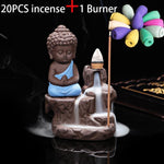 EPIC MONK INCENSE BURNER & 20 INCENSE CONES