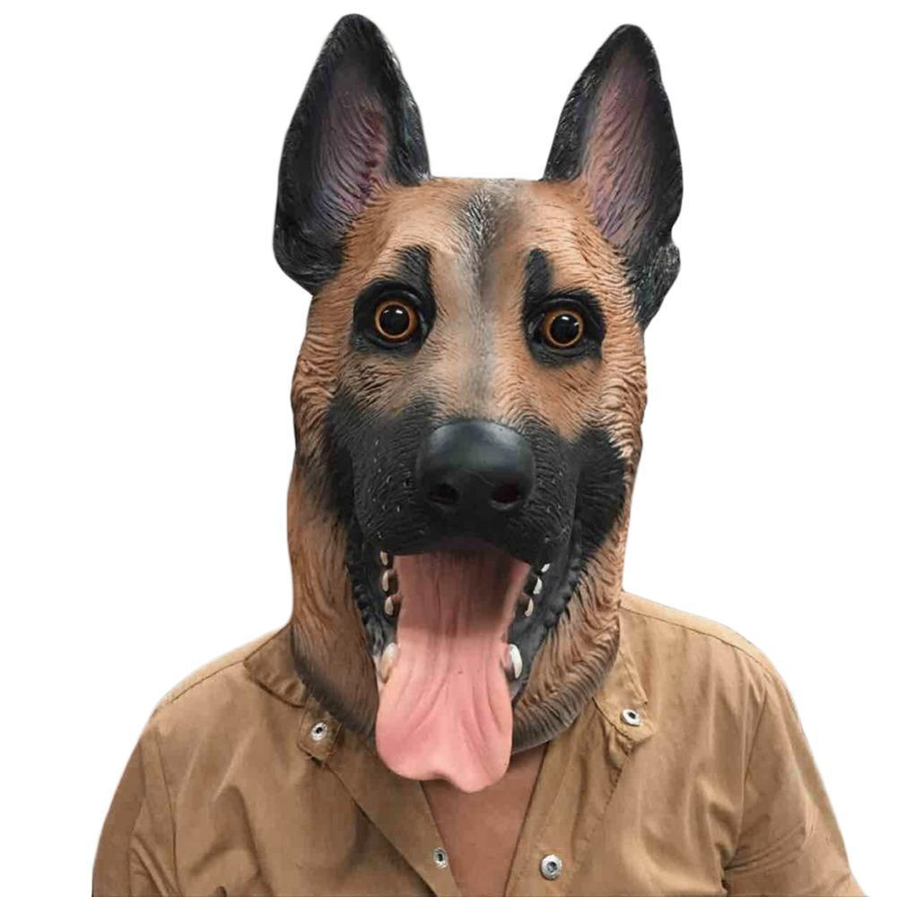 German Shepherd Halloween Masks