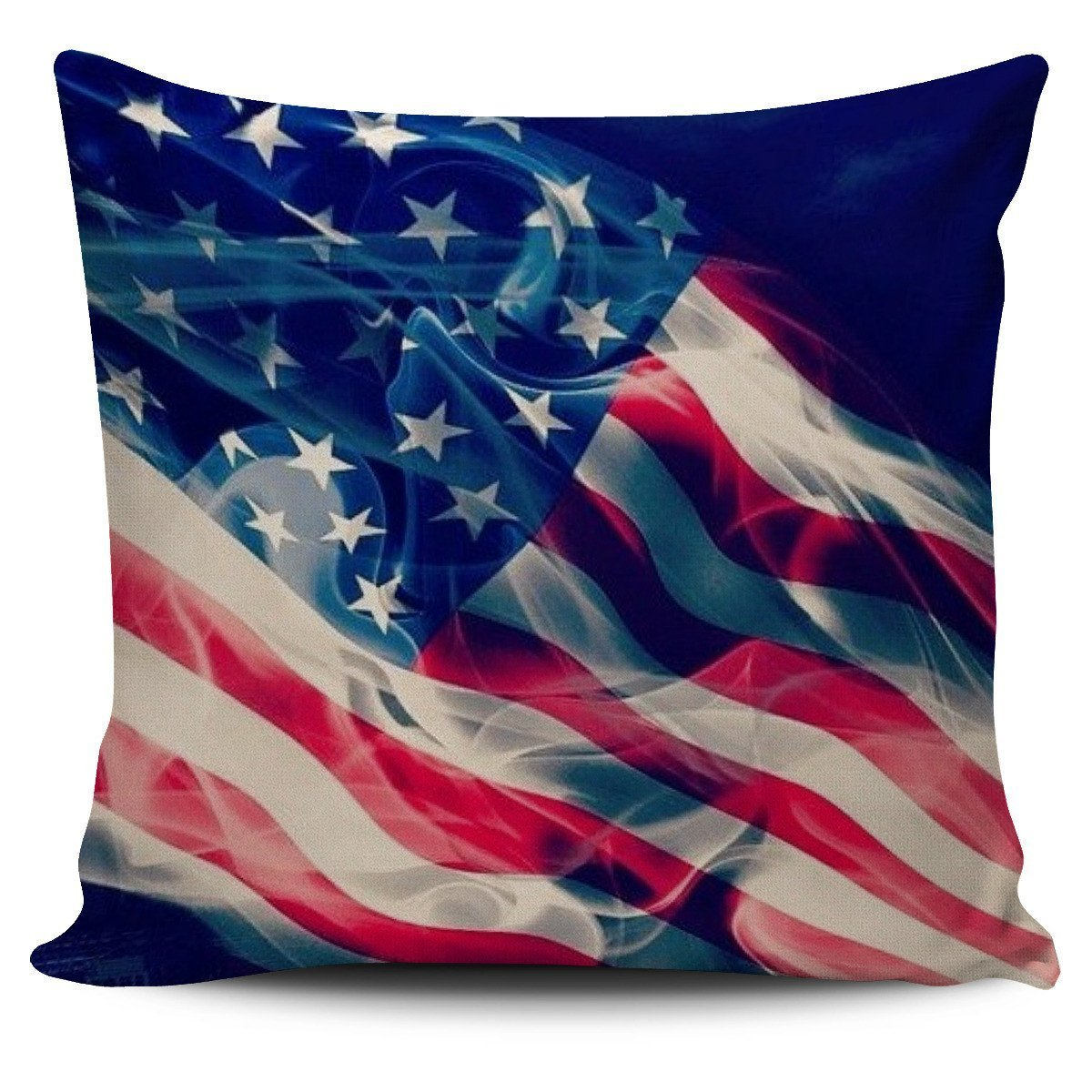 GOD Bless America pillow cover