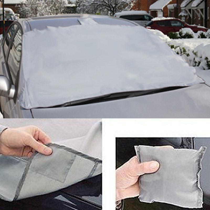 Magnetic Portable Car Cover for Snow or Dust Protection