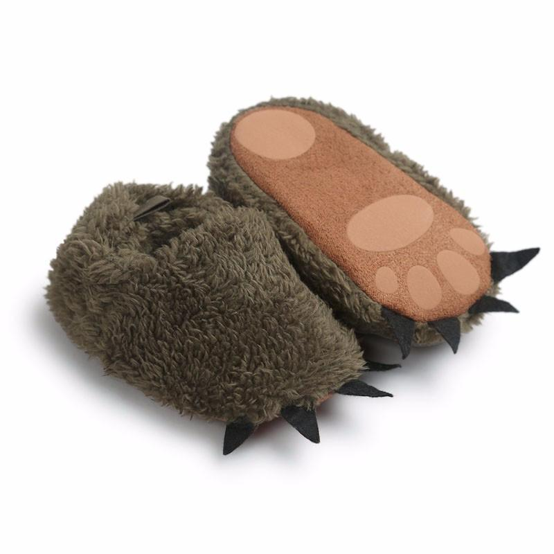 Monster Paw Baby Slippers
