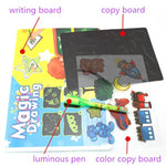 Fun Light Drawing Pen & Educational Board Toy Kit