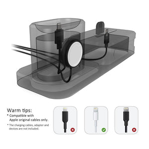 3 in 1 Charging Dock Holder For Iphone, Apple watch & Airpods
