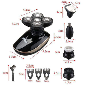 5 in 1 Rechargeable 4D Electric Shaver
