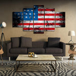 Proud American Canvas