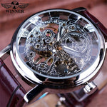 Royal Carving Skeleton Watch