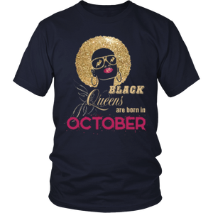 T-shirt Black queen