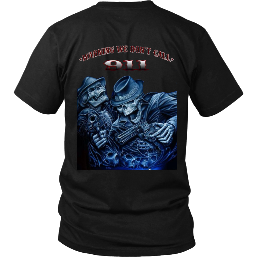 T-shirt Don't Call 991