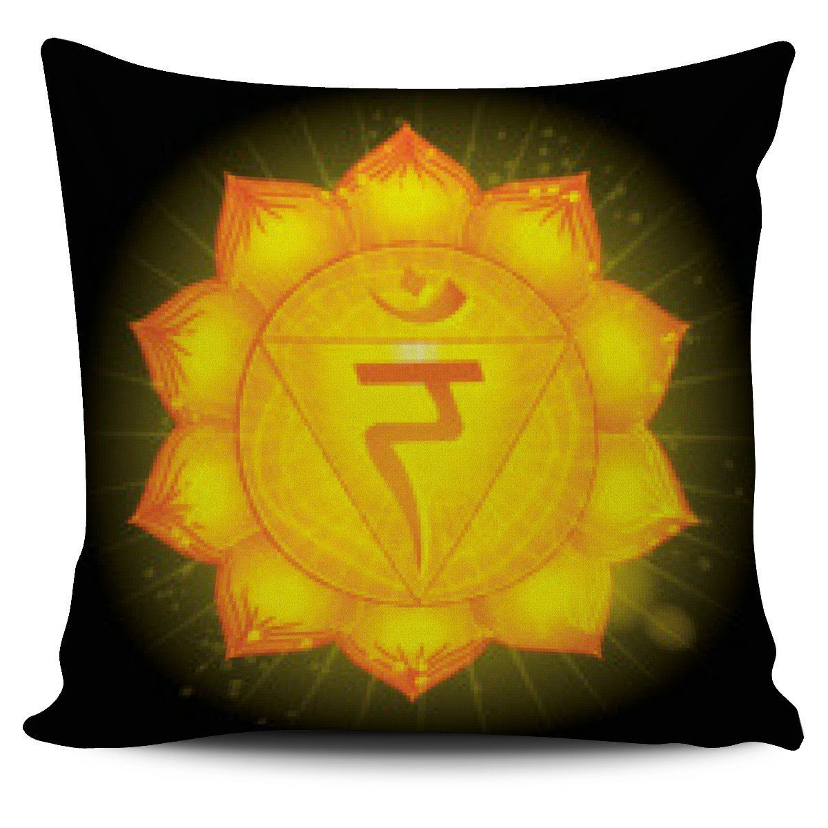 The Seven Chakra Pillow Cover