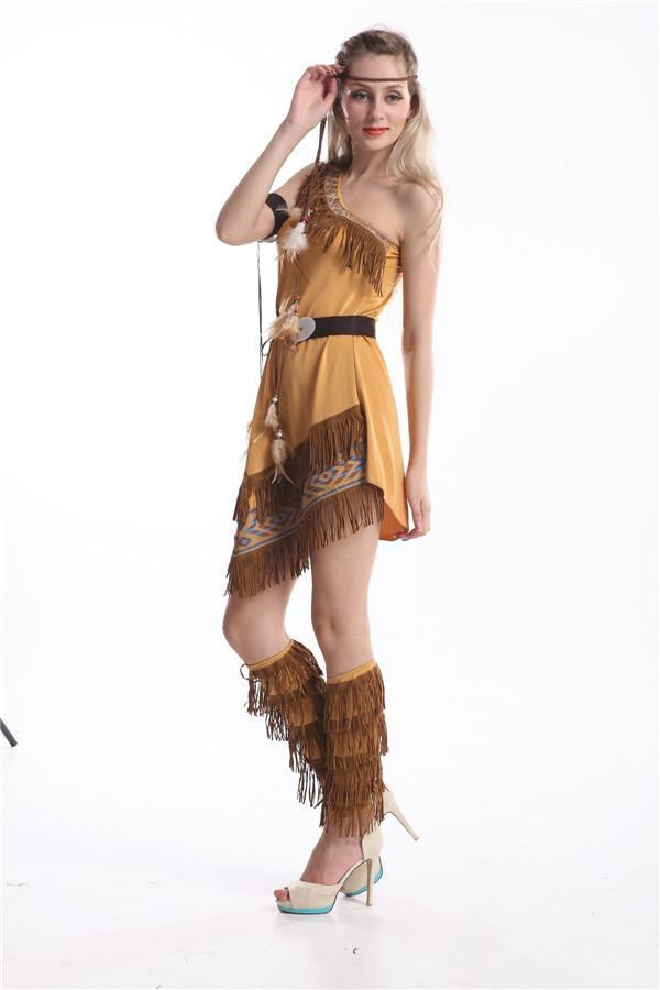 Women's Native American Maiden Costume