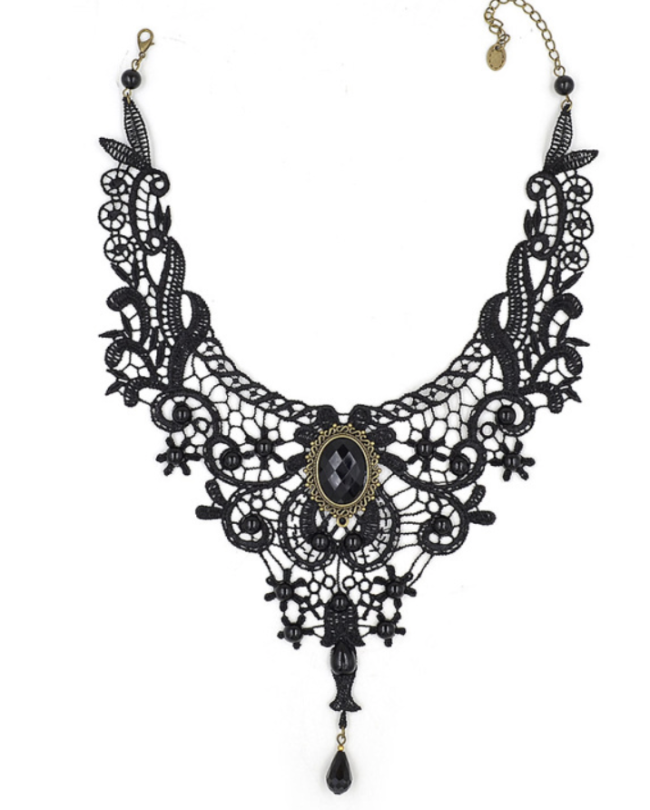 women's necklace Lychee Gothic Punk Style Women Necklace