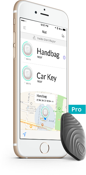 NutTag Bluetooth key wallet tracker Pro