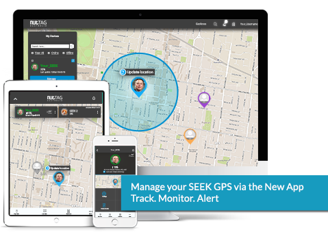 <b>SEEK</b> Vehicle GPS<br/>+ 1yr Subscription (Vodafone)