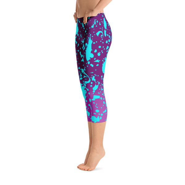 Paintball Capri Leggings
