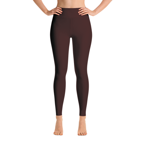Maroon Yoga Leggings