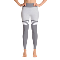 Flagship Knee High Grey Yoga Leggings