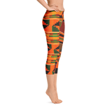 Tribal Capri Leggings